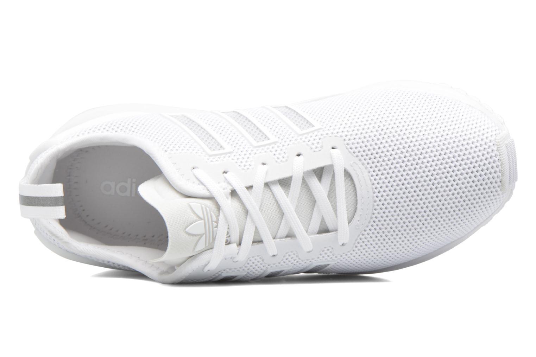 Baskets Adidas Originals Zx Flux Adv J Blanc vue gauche
