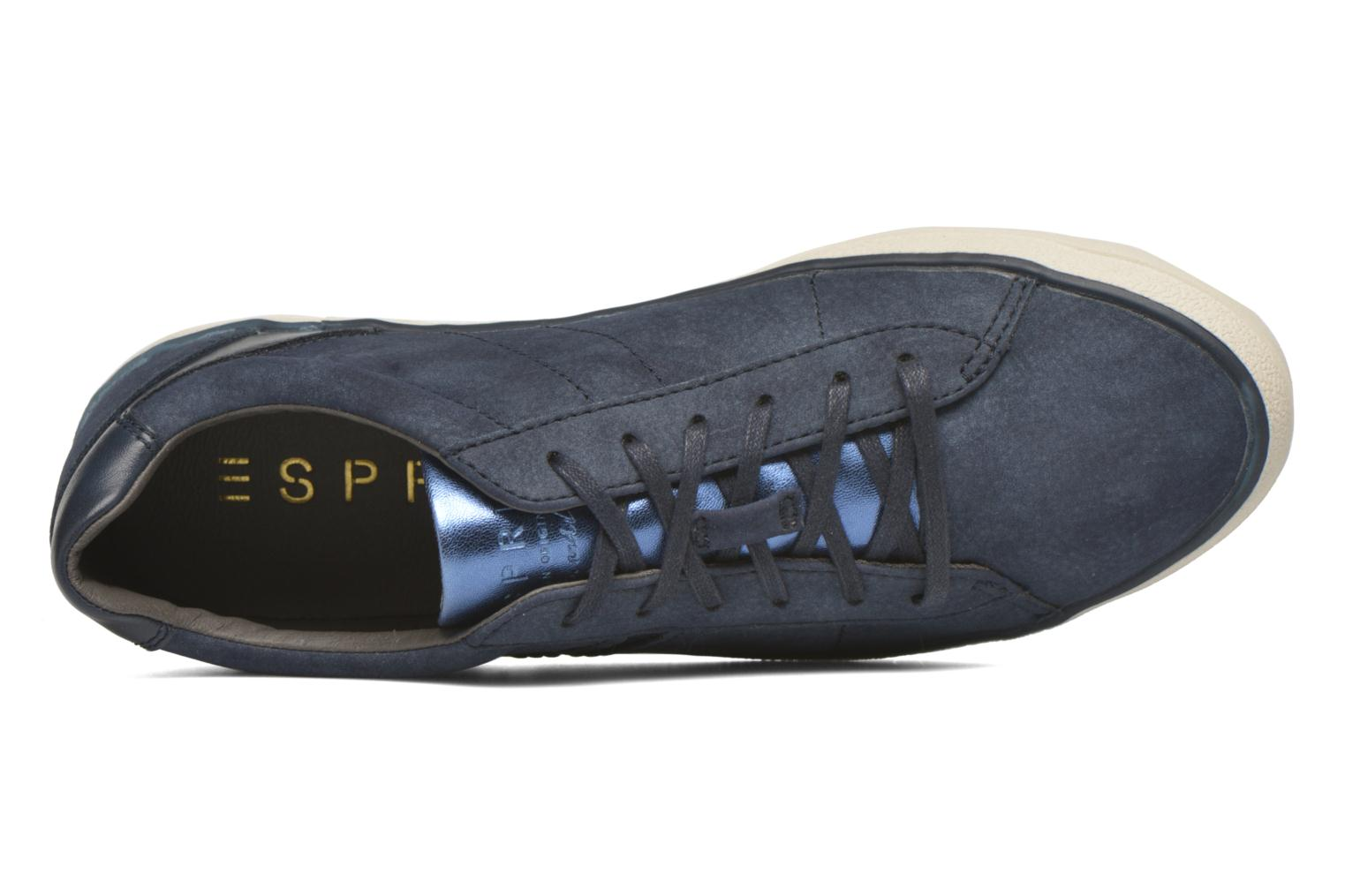 Trainers Esprit Miana Lace Up 3 Blue view from the left