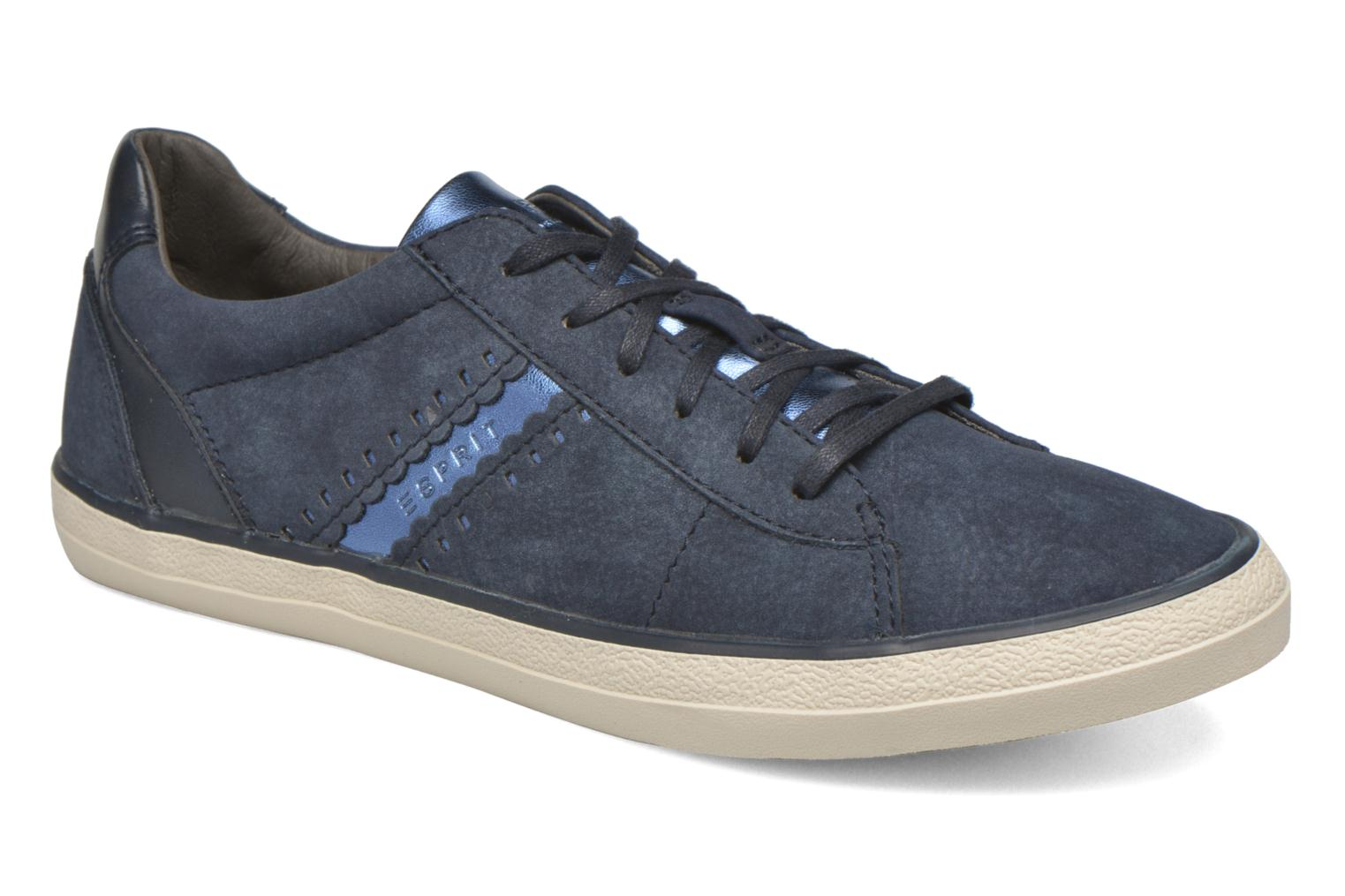 Trainers Esprit Miana Lace Up 3 Blue detailed view/ Pair view