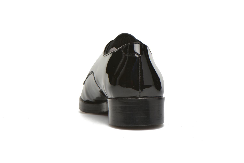 Zapatos con cordones Bruno Premi Alba Negro vista lateral derecha