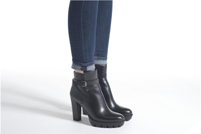Bottines et boots Bruno Premi Aurelia Noir vue bas / vue portée sac