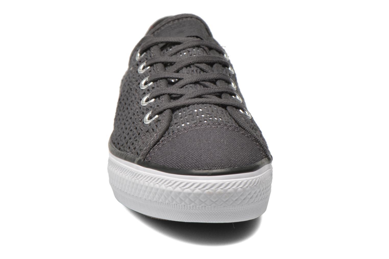 Sneaker Converse Chuck Taylor All Star High Line Ox grau schuhe getragen