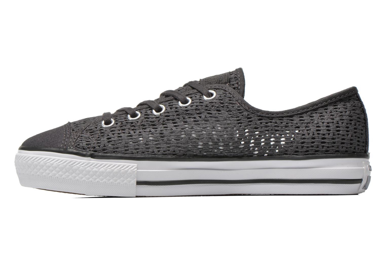 Sneaker Converse Chuck Taylor All Star High Line Ox grau ansicht von vorne