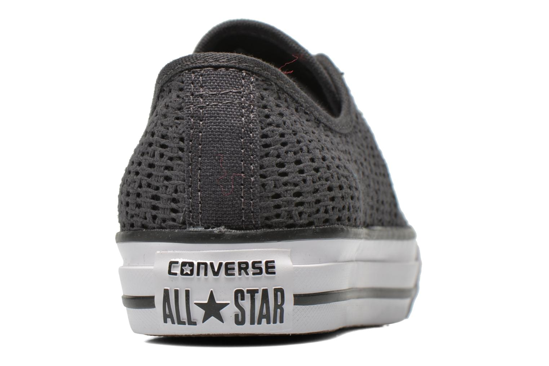 Sneaker Converse Chuck Taylor All Star High Line Ox grau ansicht von rechts