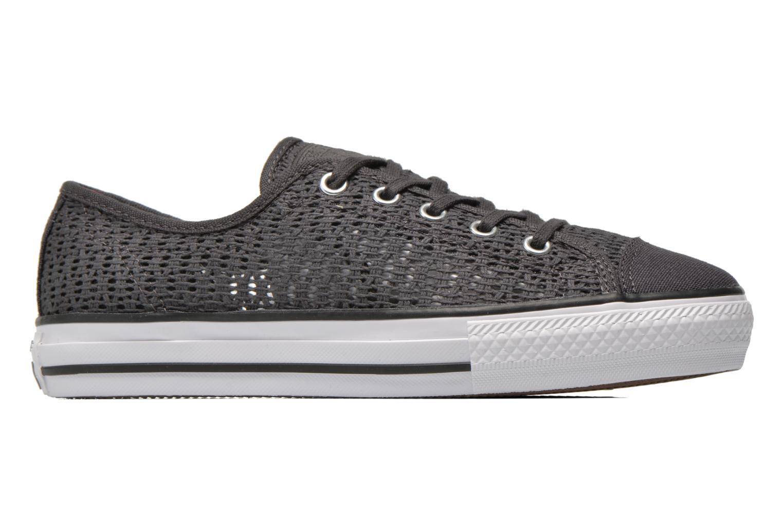 Sneaker Converse Chuck Taylor All Star High Line Ox grau ansicht von hinten