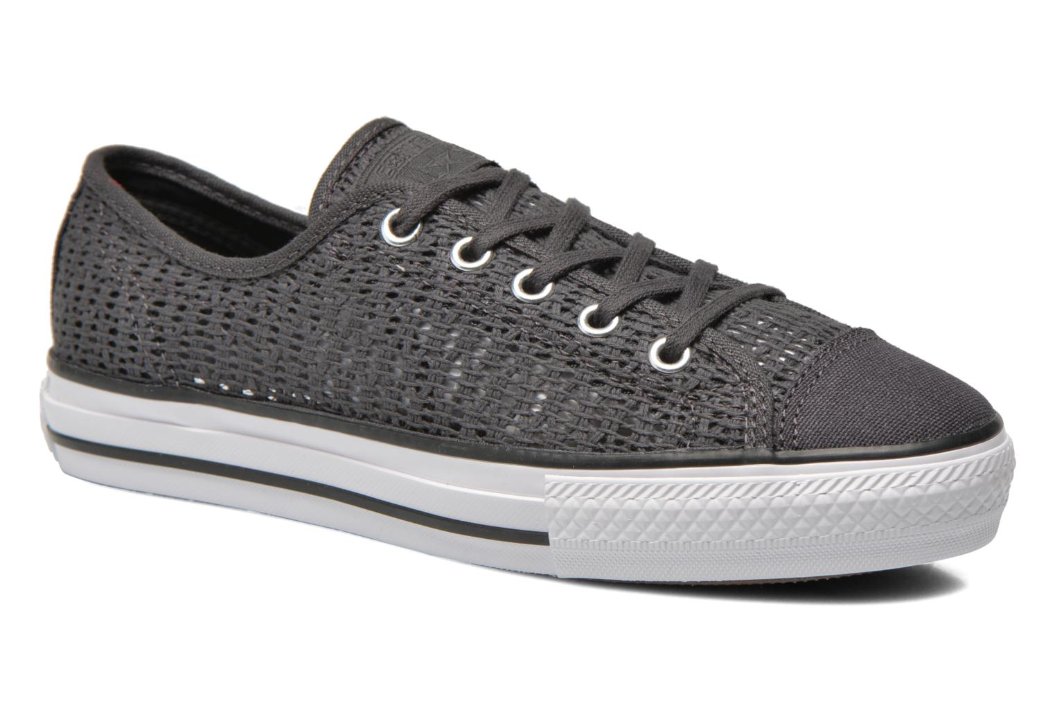 Chuck Taylor All Star High Line Ox Almost Black-White