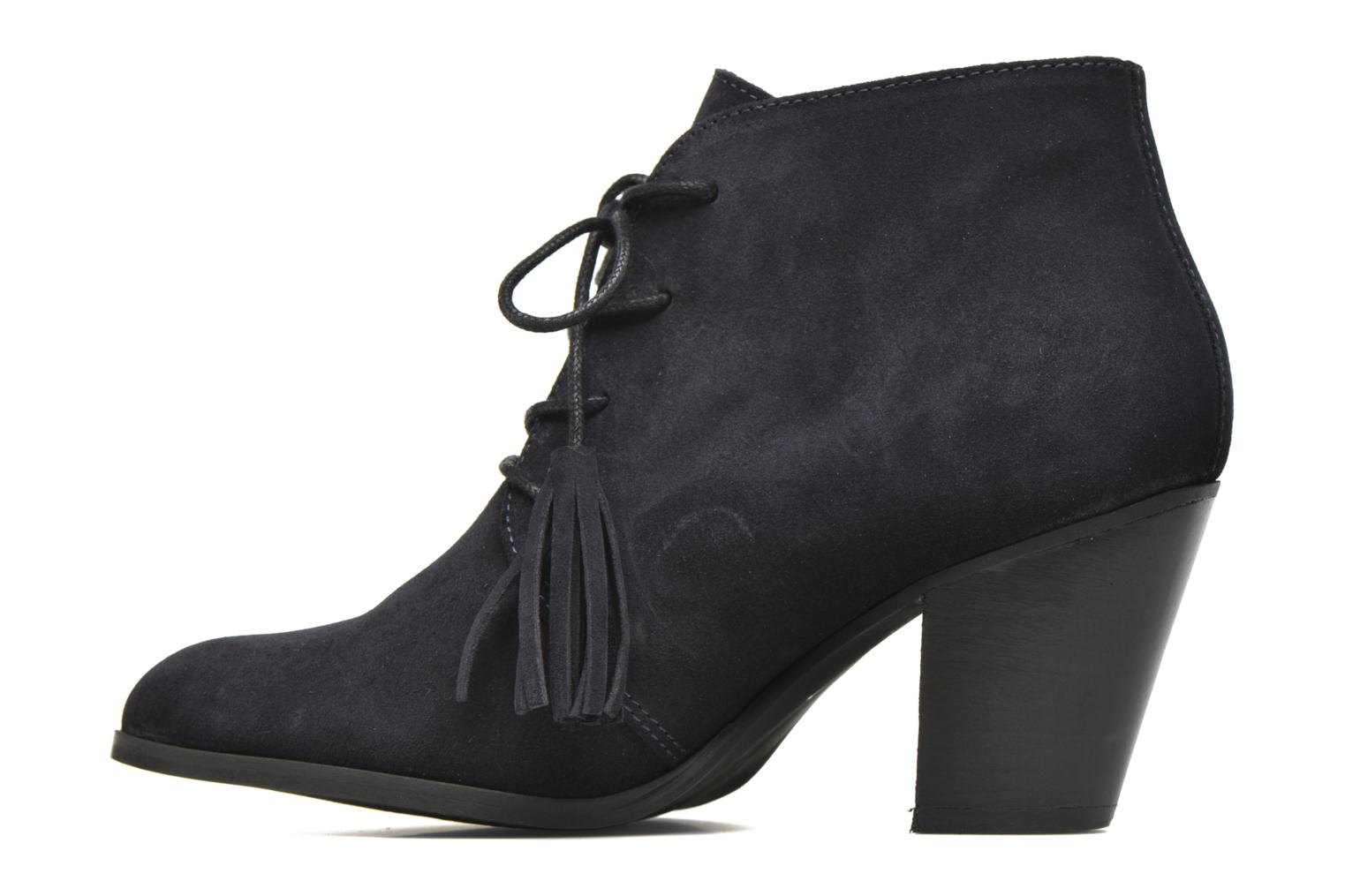 Ankle boots Georgia Rose Celipom Blue front view