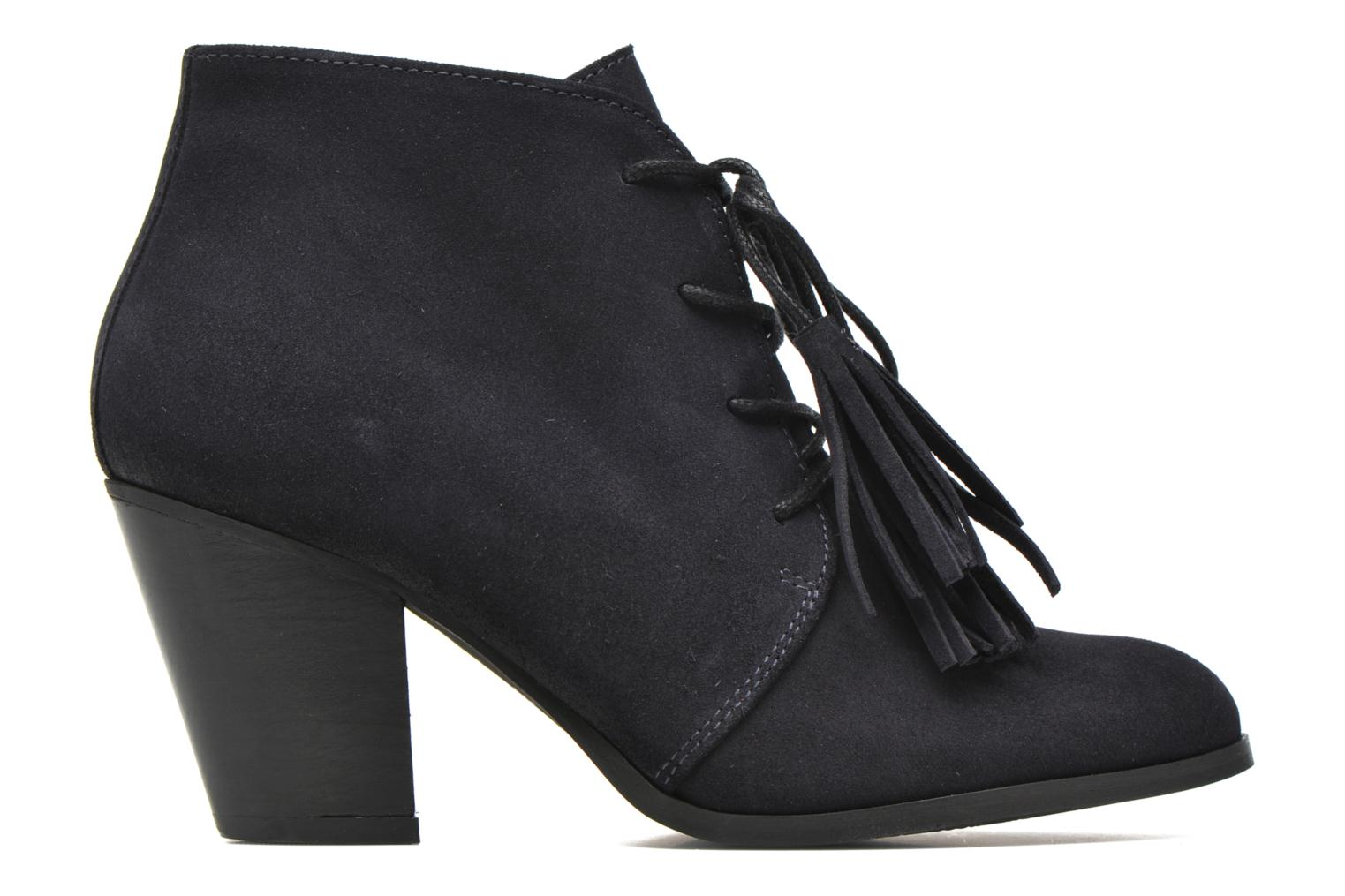 Ankle boots Georgia Rose Celipom Blue back view