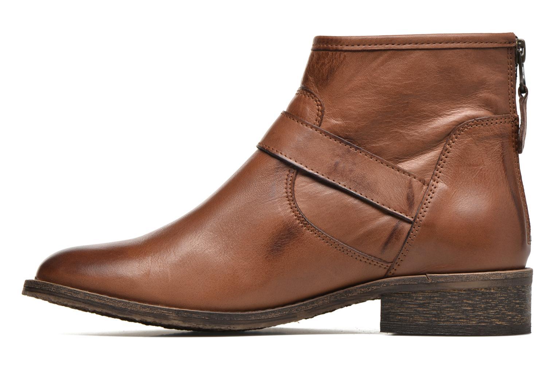 Bottines et boots Georgia Rose Celesta Marron vue face