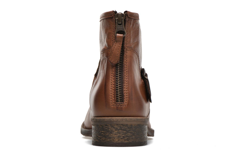 Bottines et boots Georgia Rose Celesta Marron vue droite