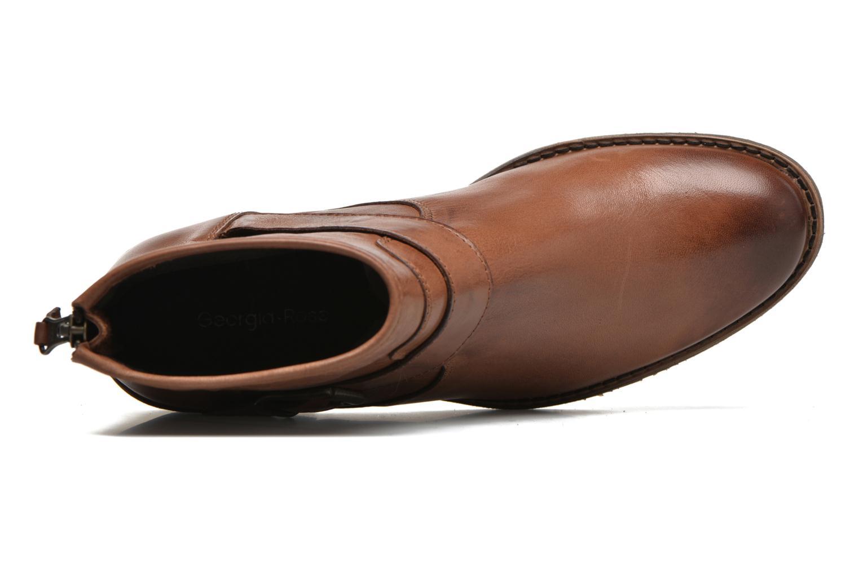 Bottines et boots Georgia Rose Celesta Marron vue gauche