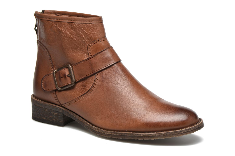 Bottines et boots Georgia Rose Celesta Marron vue détail/paire