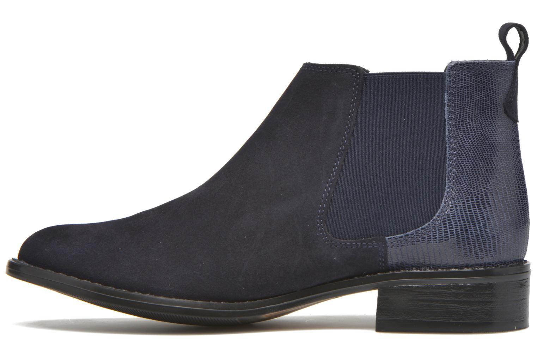 Bottines et boots Georgia Rose Celadon Bleu vue face
