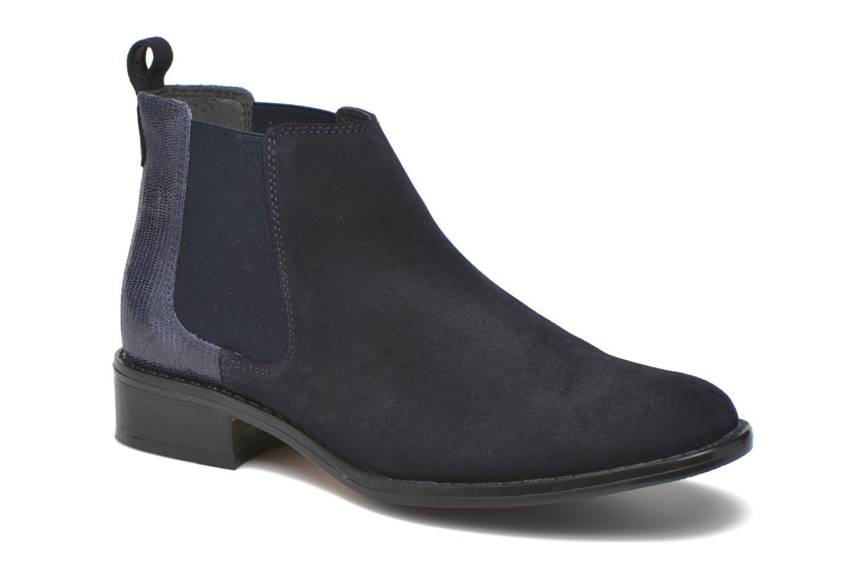 Bottines et boots Georgia Rose Celadon Bleu vue détail/paire