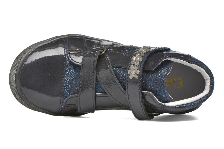 Sneaker GBB Nicoleta blau ansicht von links