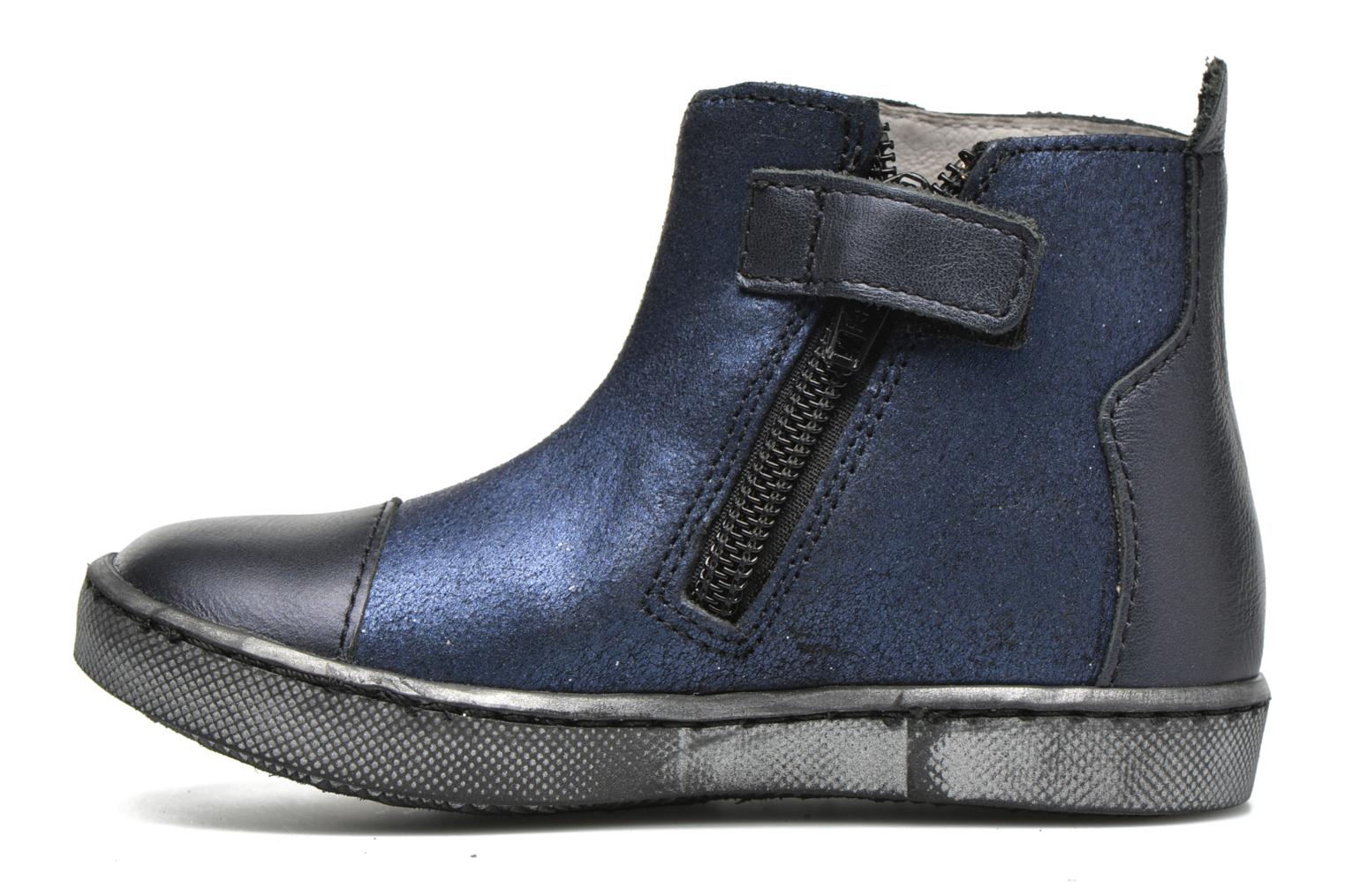 Ankle boots GBB Liat Blue front view