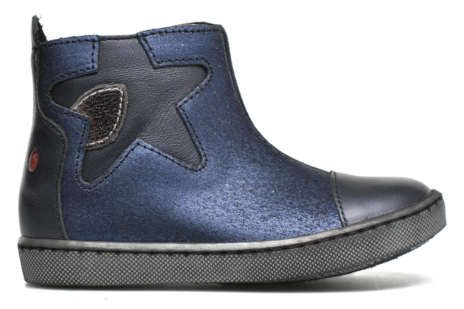 Ankle boots GBB Liat Blue back view
