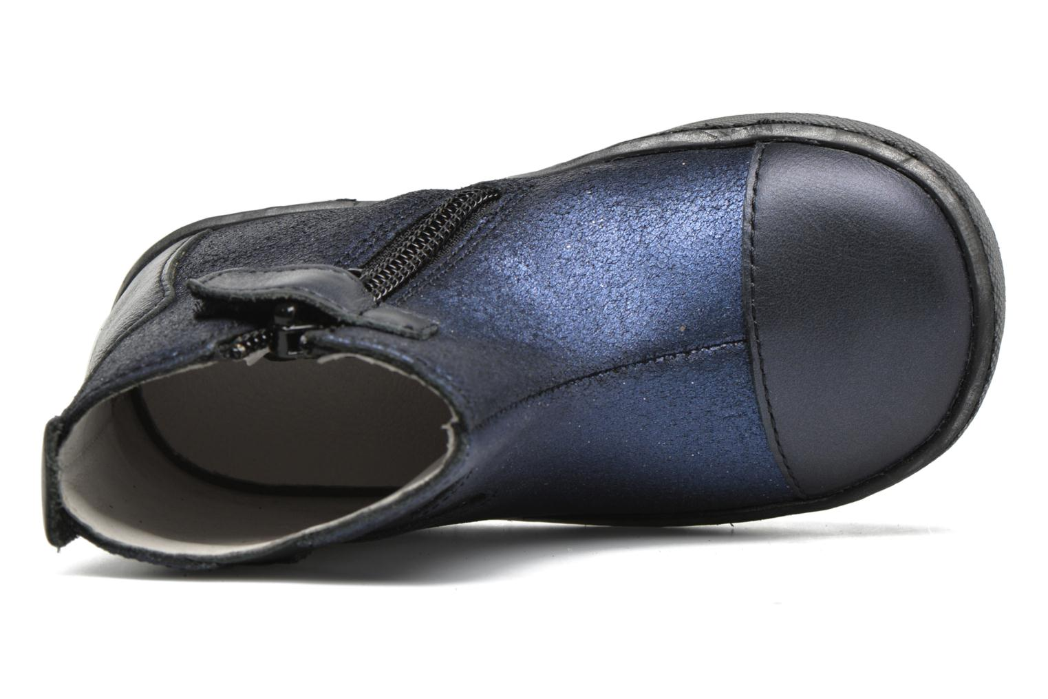 Ankle boots GBB Liat Blue view from the left