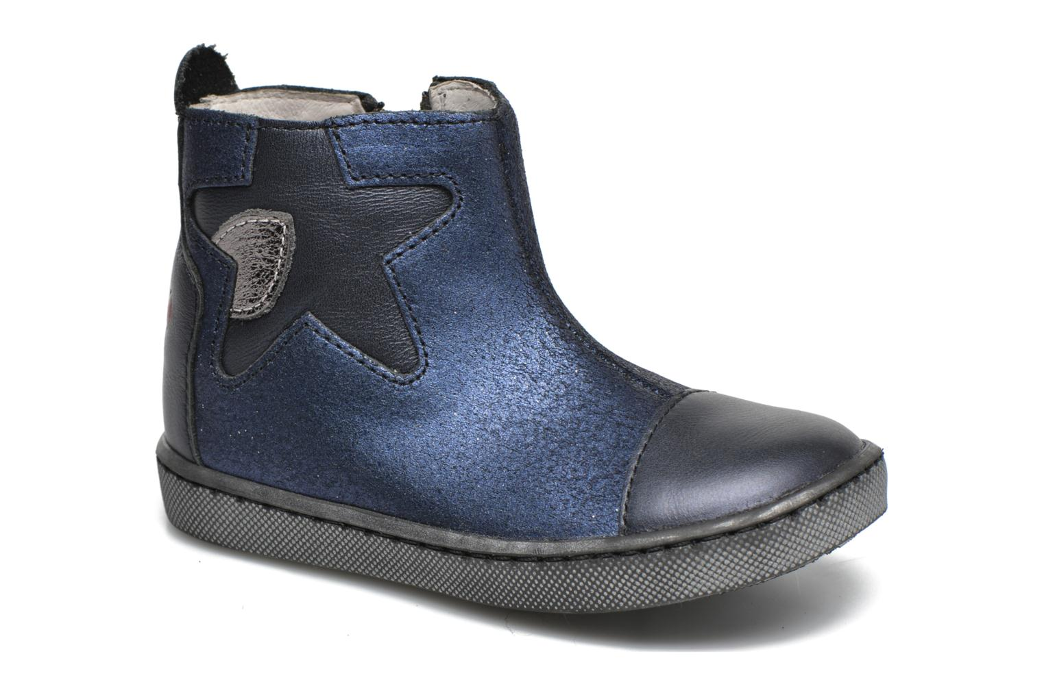 Ankle boots GBB Liat Blue detailed view/ Pair view