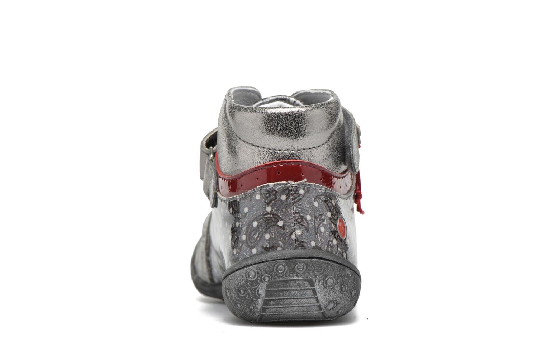 Sneaker GBB Nadette grau ansicht von rechts
