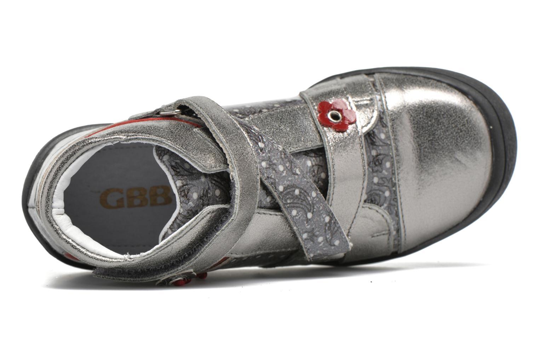 Sneaker GBB Nadette grau ansicht von links