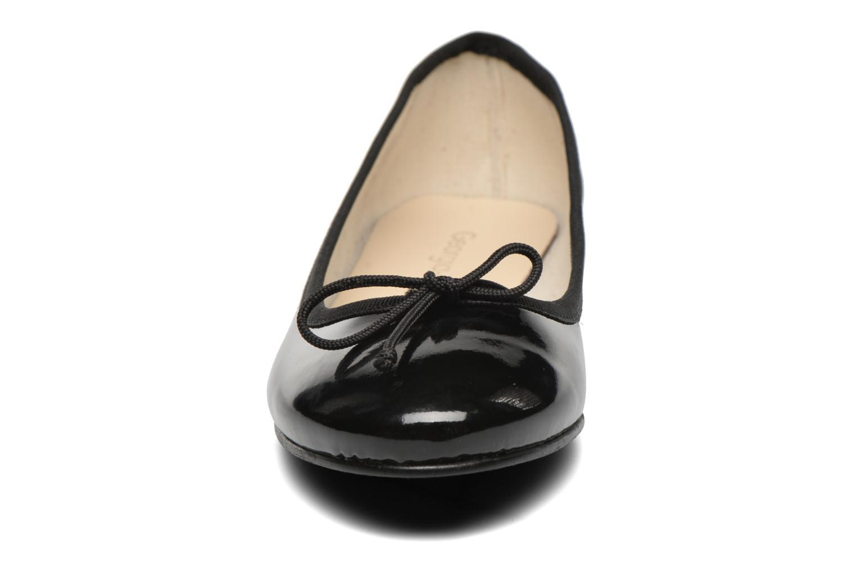 Ballerines Georgia Rose Siarma Noir vue portées chaussures