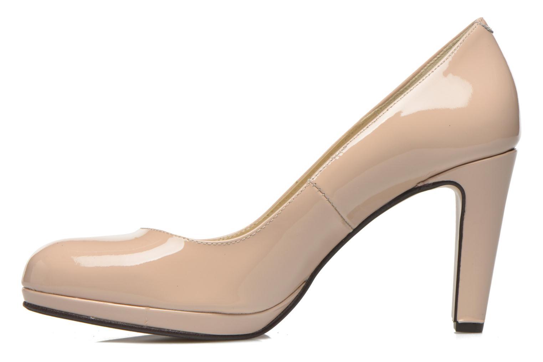Zapatos de tacón Georgia Rose Sialto Beige vista de frente