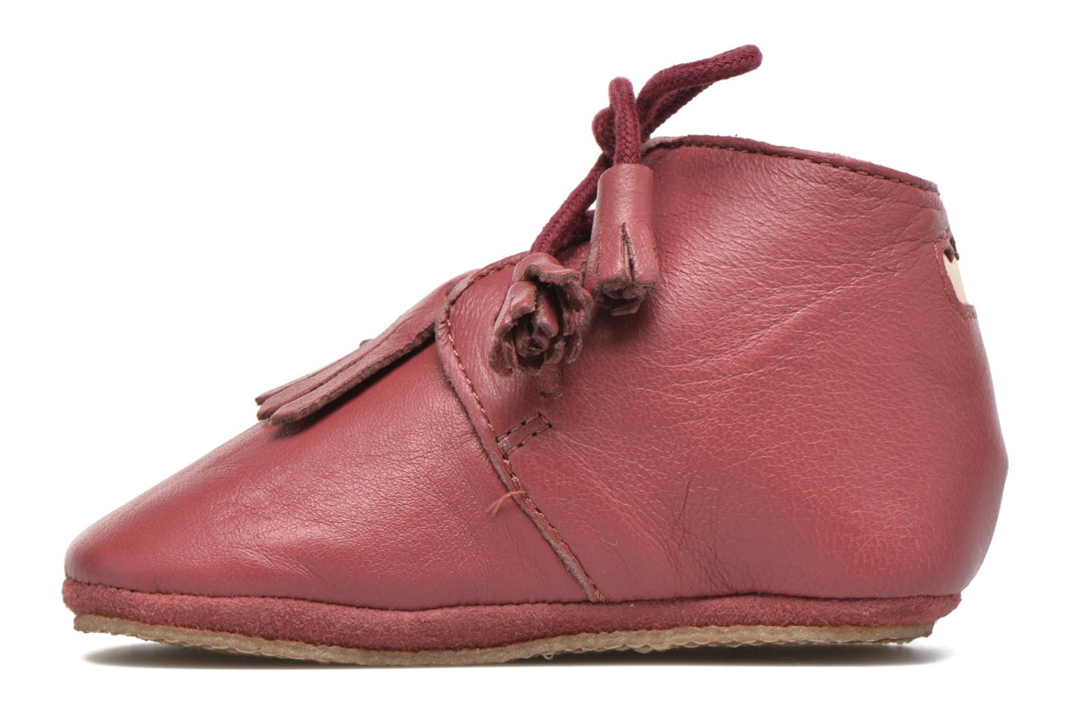 Chaussons Easy Peasy Mexip Rouge vue face