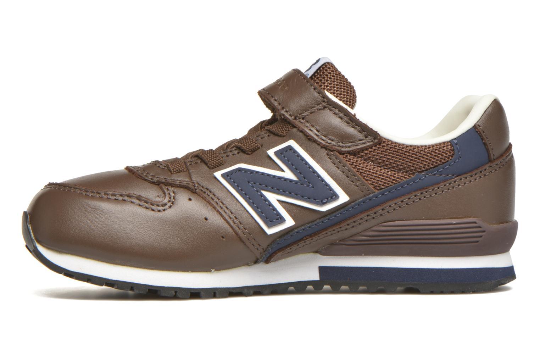 Sneaker New Balance KV996 J braun ansicht von vorne