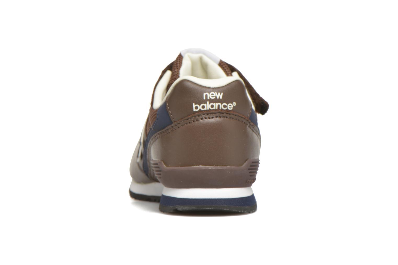 Sneaker New Balance KV996 J braun ansicht von rechts