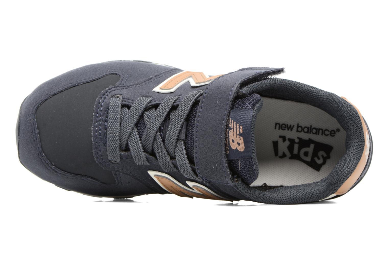Sneaker New Balance KV996 J blau ansicht von links