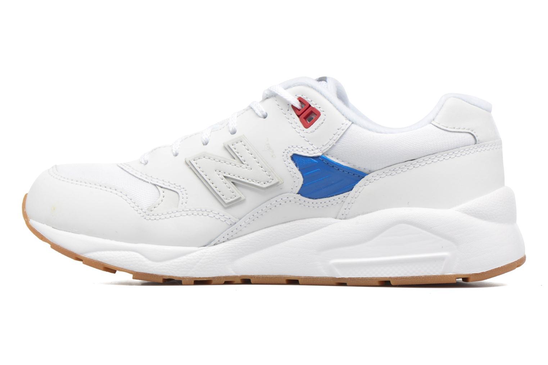 Sneaker New Balance KL580 J weiß ansicht von vorne