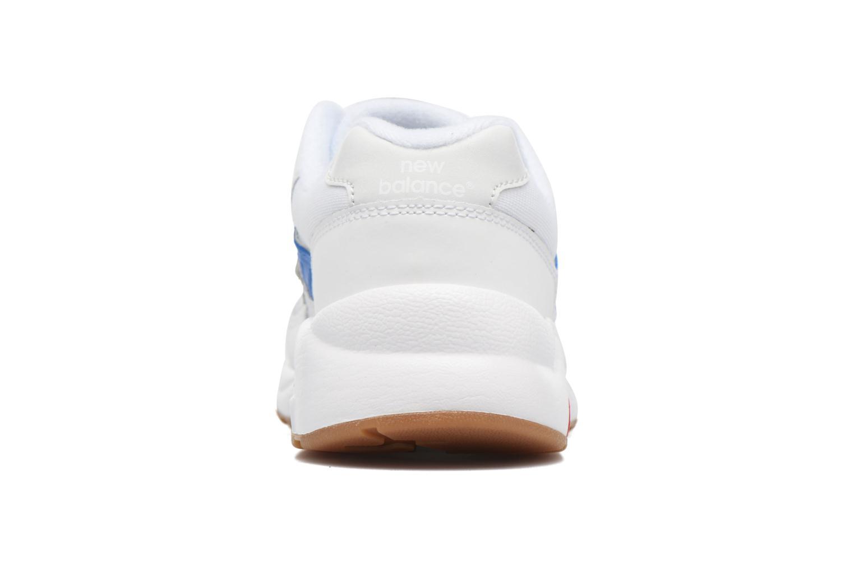 Sneaker New Balance KL580 J weiß ansicht von rechts