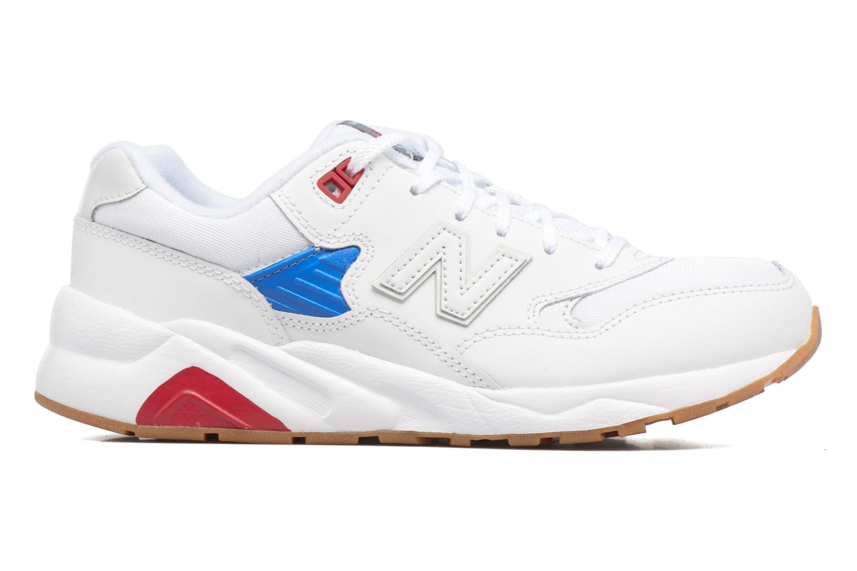 Sneaker New Balance KL580 J weiß ansicht von hinten