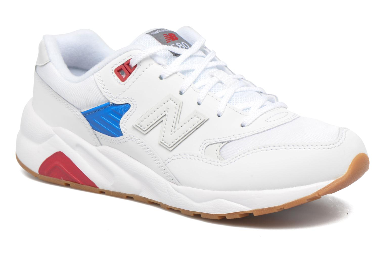 Sneaker New Balance KL580 J weiß detaillierte ansicht/modell