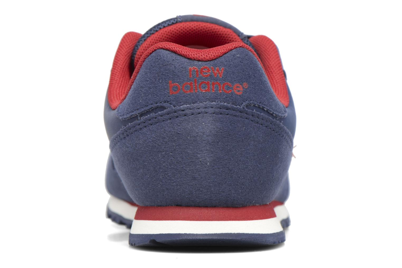 Baskets New Balance KJ373 J Bleu vue droite