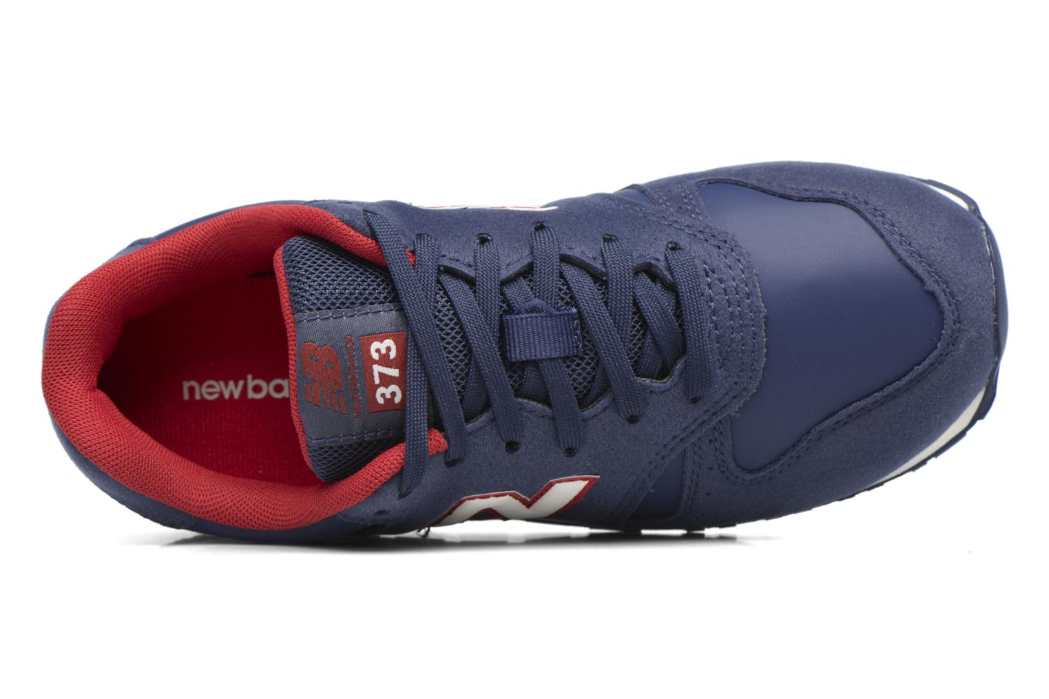 Trainers New Balance KJ373 J Blue view from the left