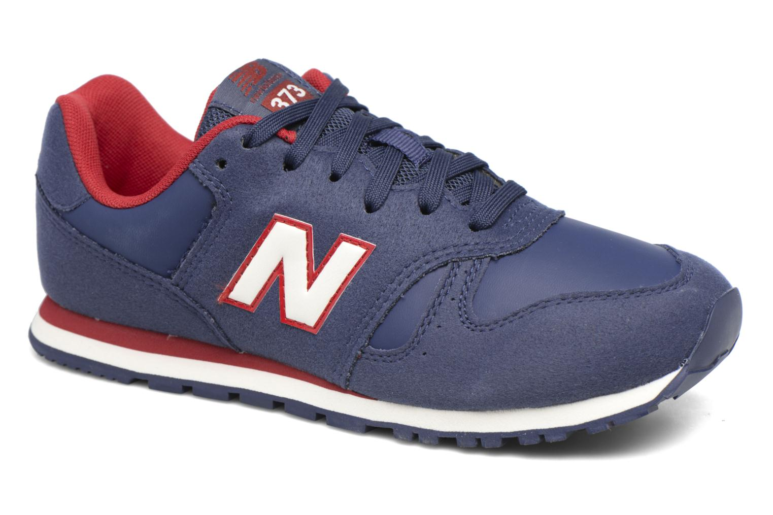 Trainers New Balance KJ373 J Blue detailed view/ Pair view