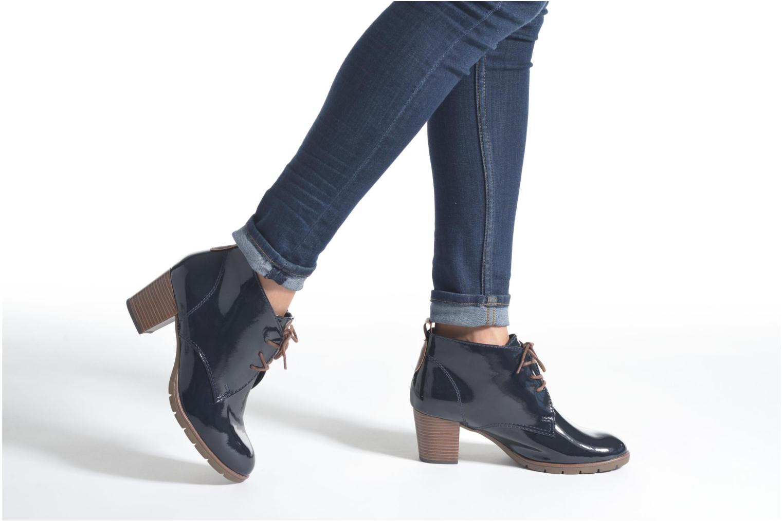 Ankle boots Marco Tozzi Ace 2 Black view from underneath / model view