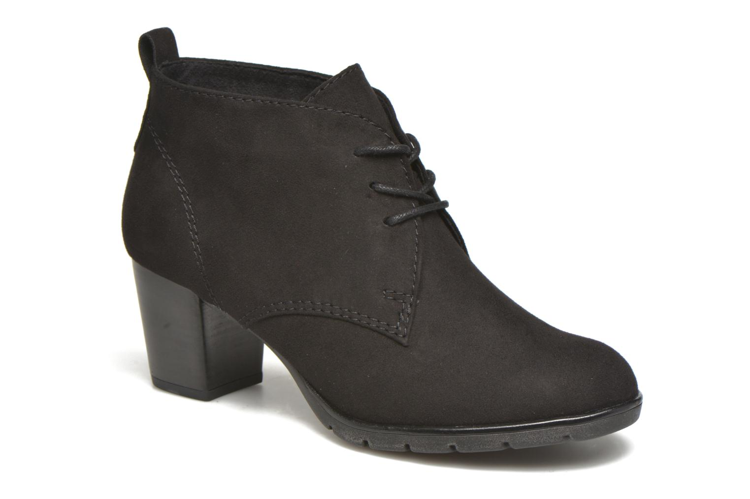 Ankle boots Marco Tozzi Ace 2 Black detailed view/ Pair view