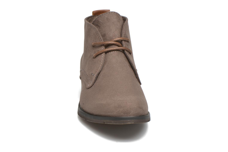Chaussures à lacets Marco Tozzi Jina Gris vue portées chaussures