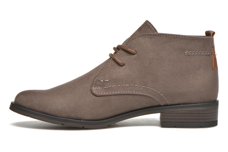 Chaussures à lacets Marco Tozzi Jina Gris vue face