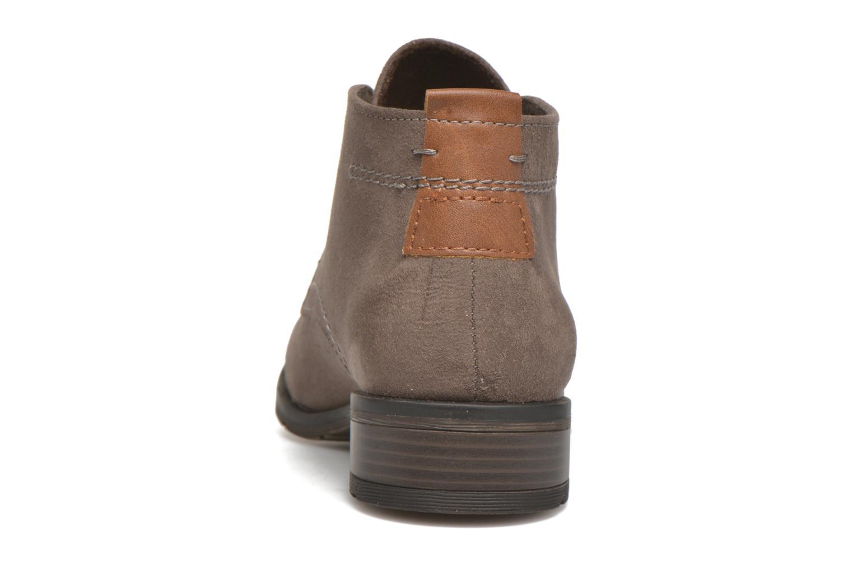 Chaussures à lacets Marco Tozzi Jina Gris vue droite