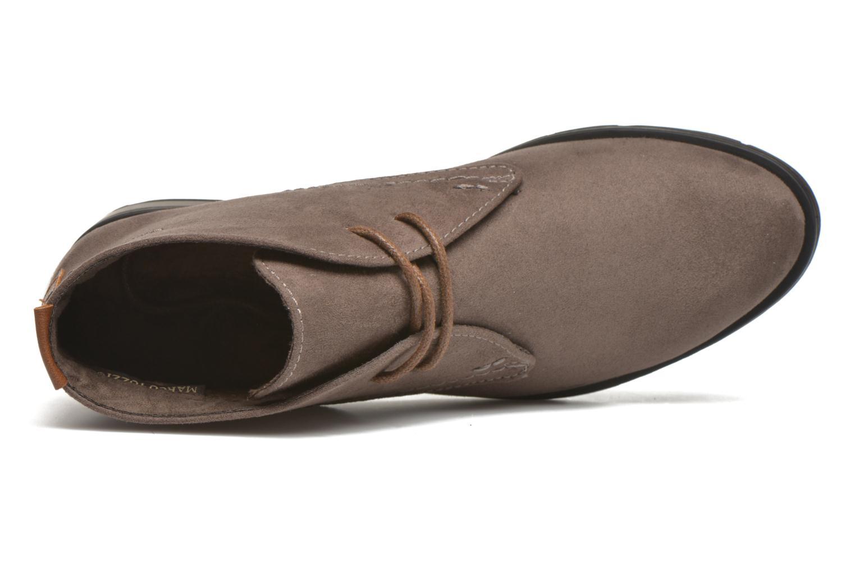 Chaussures à lacets Marco Tozzi Jina Gris vue gauche