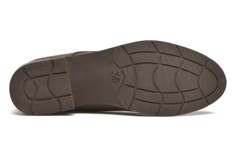 Chaussures à lacets Marco Tozzi Jina Gris vue haut