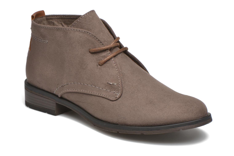 Chaussures à lacets Marco Tozzi Jina Gris vue détail/paire