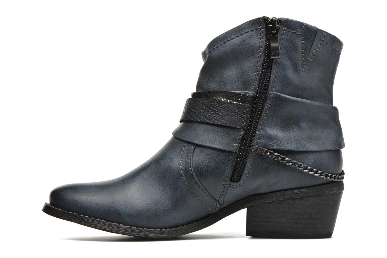 Bottines et boots Marco Tozzi Rina Bleu vue face