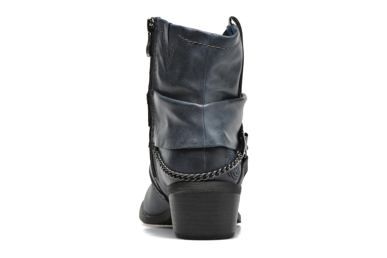 Bottines et boots Marco Tozzi Rina Bleu vue droite