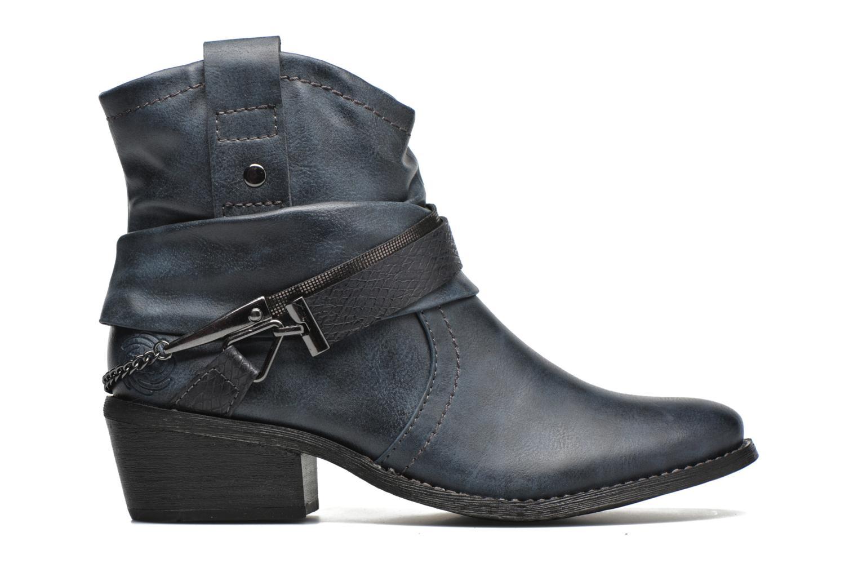 Bottines et boots Marco Tozzi Rina Bleu vue derrière