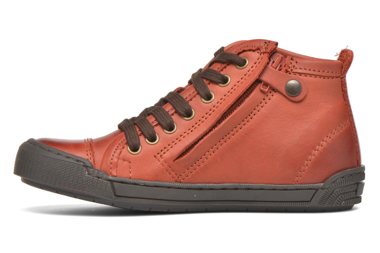 Sneaker Bisgaard Else rot ansicht von vorne
